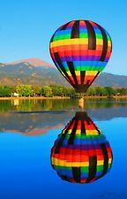 Hot Air Balloon Ballooning Nature Landscape HD POSTER