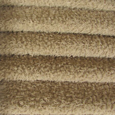1/4 yd VIS1/SCM Stone INTERCAL 6mm Med. Dense Curly Matted German Viscose Fabric