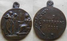 medaglia a ricordo della vittoria della 1° guerra mondiale 1918