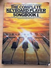 THE COMPLETE KEYBOARD PLAYER Songbook 1, Kenneth Baker