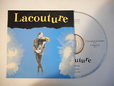 LACOUTURE : UN AMOUR DE FANFARE [ CD SINGLE PORT GRATUIT ]