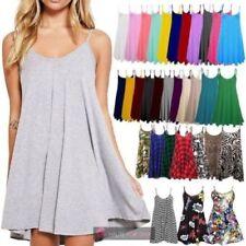 Summer Elastane Scoop Neck Dresses for Women