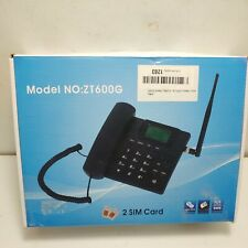 Fixed Wireless Phone Terminal GSM Desk Phone Mobile Phone. ZT600G