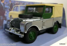 Dinky 1/43 Scale DY-9 1949 Land Rover Chrome Plated (Custom?) Diecast model car