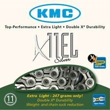 KMC X11-EL Silver 11 Speed Road Chain SPARES