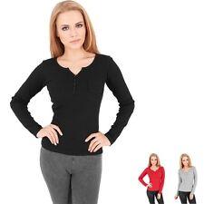 Damen-T-Shirts aus Baumwolle ohne Muster