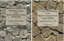 Discounted lot - two books - Base-metal & silver Coinage of the Western Satraps