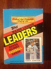 Topps Major League Leaders Super Glossy Baseball Cards