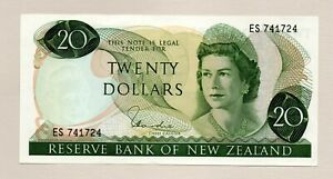 Reserve Bank of New Zealand 20  Dollar Note