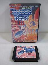 Mega-Drive Genesis -- Thunder Force 3 -- Box. JAPAN Game Sega. 11456