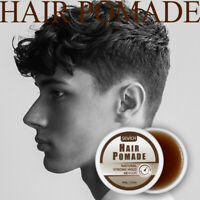 100g Strong Hold Pomade Hair Gel Wax Long lasting For Hair Styling Edge Control