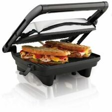 Hamilton Beach 25460A Panini Press Gourmet Sandwich Maker, No Sales TAX