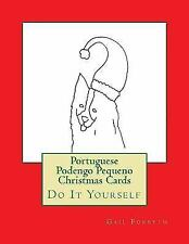 Portuguese Podengo Pequeno Christmas Cards : Do It Yourself by Gail Forsyth...