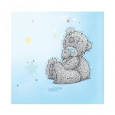 Pack of 16 Me To You Blue Party Napkins - Cute Tatty Bear Design - New & Sealed