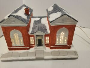 Hawthorne Village Norman Rockwells Christmas in Stockbridge  The Library