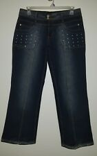 Women's Makaveli Branded Jeans Tupac Shakur Boot Cut Size 16