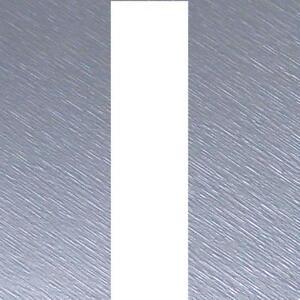 "Brushed SILVER Bonnet Stripes Viper 3m(10') x12.5cm(5"") fits ASTON MARTIN (03)"