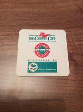 Rare Collectable Caravan Club National Rally Holkham Hall 1996 Beer Mat Coaster