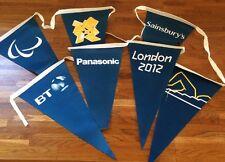 London 2012 olympic jeux paralympiques piscine dos crawlé drapeaux