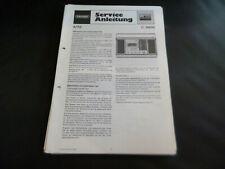 Original Service Manual Schaltplan Grundig C 8800