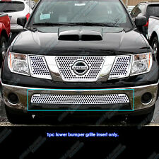 Fits 2005-2017 Nissan Frontier/05-07 Pathfinder Bumper Punch Sheet Grille Insert