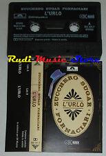 MC SINGOLA ZUCCHERO SUGAR FORNACIARI L'urlo PROMO 1992 italy OK cd lp dvd vhs