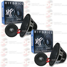 "2 x BRAND NEW HIFONICS 12"" DUAL 4-OHM CAR AUDIO SUB WOOFERS 12-INCH"