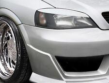 """OPEL Astra G T98 CC/Coupe/Cabrio """"Böser-Blick"""" BREIT Scheinwerferblenden Set"""