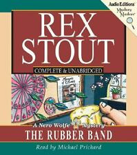 The Rubber Band by Rex Stout (2006, CD, Unabridged)