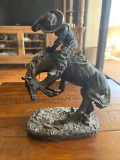 """Frederic Remington """"The Rattlesnake"""" Reproduction Statue Limited Edition 9500"""