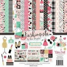 Fashionista Shop Glam Fab Classy Shoes Dresses Makeup Echo Park Page Kit 12 x 12