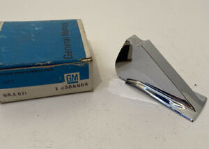 NOS 1962 Oldsmobile deluxe wheel disc fin chrome 584464 New Box Mint Condition