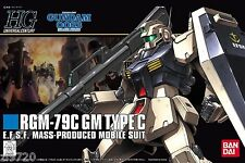 Bandai HGUC 113 GUNDAM RGM-79C GM TYPE C 1/144 scale kit