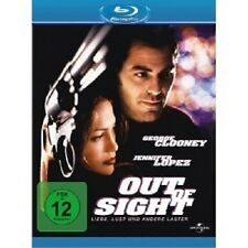 OUT OF SIGHT -  BLU-RAY NEUWARE GEORGE CLOONEY,JENNIFER LOPEZ,VING RHAMES