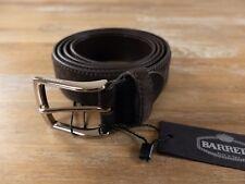 BARRETT brown suede belt - Size 105 (fits size 40 waist best) - NWT