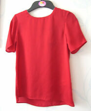Marks and Spencer Girls' No Pattern Short Sleeve Sleeve T-Shirts & Tops (2-16 Years)
