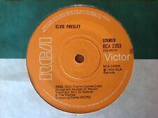 ELVIS PRESLEY 1973 Vinyl 45rpm RCA Single FOOL