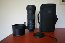 Sigma 150-600mm F/5-6.3 Dg Os Hsm Contemporary Lens [Nikon] with Accessories