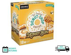 The Original Donut Shop Honey Bun Keurig Coffee K-cups