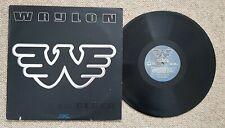 WAYLON JENNINGS - BLACK ON BLACK - OZ PRESS RCA LABEL COUNTRY LP - 1982