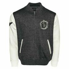 Unisex Harry Potter Slytherin Crest Aplicación Bordado Cremallera Universitaria