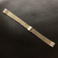 Genuine Vintage OMEGA Mesh Watch Strap. Gold Filled 10kt. 12mm
