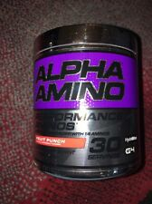 Cellucor Alpha Amino Performance BCAAs (30 Servings - Fruit Punch  ) ENERGY