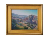 Matthew M Reynolds Listed California Plein Air Mountain Landscape Oil Painting