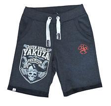 Yakuza Premium Jogginghose Shorts Hose 2429 schwarz grau S M L XL XXL XXXL