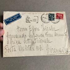 F) BustaRegno posta aerea Regno 1940 per la Libia posta militare
