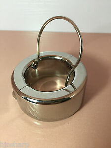 *** STAINLESS STEEL BALL WEIGHT TESTICLE STRETCHER 270G BONDAGE CBT FETISH ***
