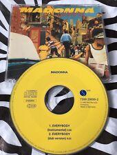 Madonna - Everybody Rare CD Single