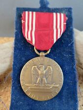 World War 2  WWII US Army Efficiency Honor Fidelity For Good Conduct Medal Pin