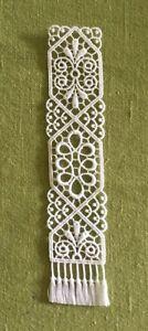 Lace Bookmark - Celtic